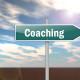 Schild: Coaching